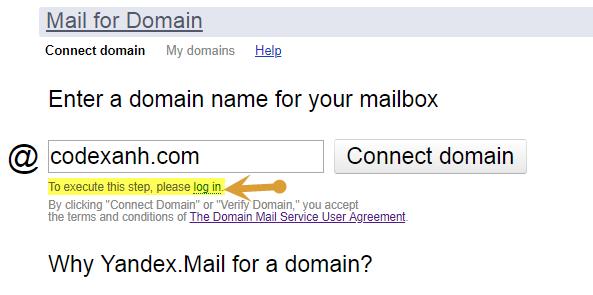 Quản lý user và tạo thêm user bằng hệ thống email Yandex