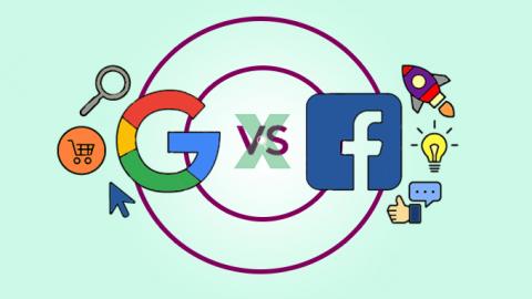 Website vs Facebook vs Google vs Kênh gian hàng
