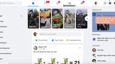 Mạng xã hội Facebook thay đổi giao diện mới